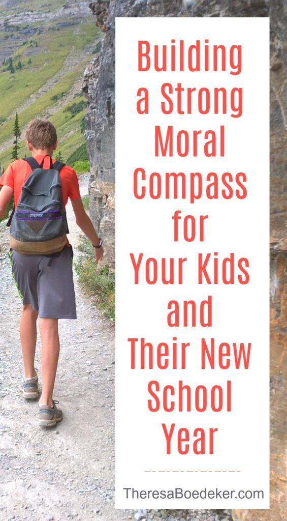 5 ways parents can build a strong moral compass for kids. If we want to shape and influence them, we need to focus on the relationship.