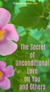 Unconditional love has a secret. When we feel loved and accepted just the way we already are, that's when we get motivated to change into better people.