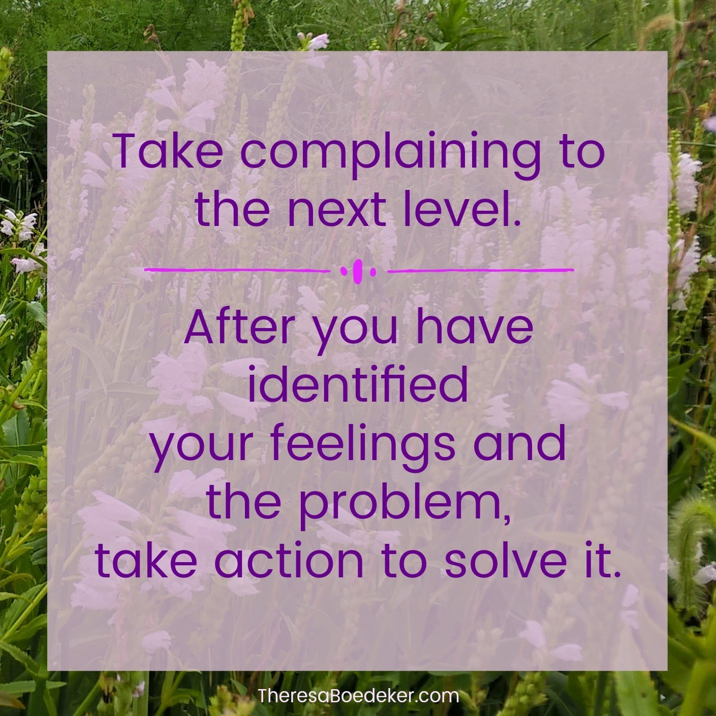 Learn the 4 benefits of complaining. Then take complaining to the next level and do something about your complaints.