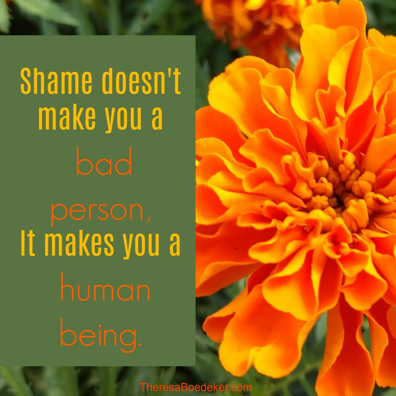 To deal with shame and the lies it is telling us, we need to learn the 4 ways that shame makes us feel.